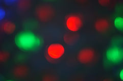 Beautiful Bokeh background , Concept Happy new year and Christmas Stock Image