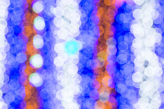 Beautiful bokeh. Background light from the lamp in festivals Royalty Free Stock Photos