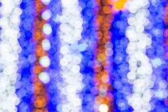 Beautiful bokeh. Background light from the lamp in festivals Stock Image