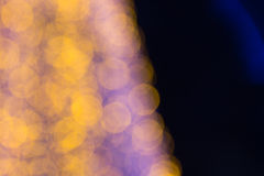 Beautiful bokeh. Background light from the lamp in festivals Royalty Free Stock Images