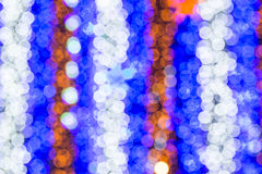 Beautiful bokeh. Background light from the lamp in festivals Stock Photos