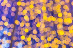 Beautiful bokeh. Background light from the lamp in festivals Stock Images