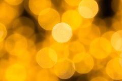 Beautiful bokeh background light from the lamp Royalty Free Stock Photos