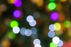 Beautiful bokeh background light from the lamp Stock Image