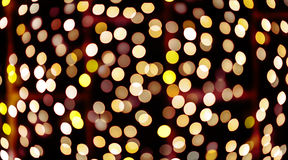 Beautiful bokeh of candles light Stock Photo