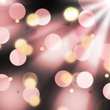 Beautiful bokeh effect Stock Photography