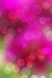 Beautiful bokeh on purple background . Royalty Free Stock Photos