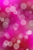 Beautiful bokeh on purple background . Royalty Free Stock Images