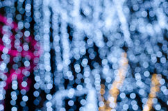 Beautiful  bokeh sparkly. The abstract background of defocus light bokeh Royalty Free Stock Photography
