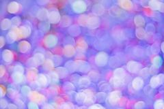 Free Beautiful Bokeh With Dynamic Neon Light. Coffetti Shimmer With Different Colors. Metfetti Glistens In The Neon Ligallic Round Royalty Free Stock Photo - 161659135