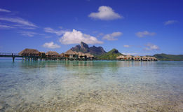 Beautiful Bora Bora Royalty Free Stock Photos