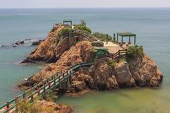The beautiful border city - Military Island, Taiwan Royalty Free Stock Photo
