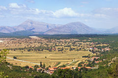 Beautiful Bosnian countryside Stock Photo