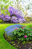 Beautiful, botanic garden in Spring. Stock Photography