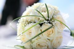 Beautiful bouquet of the bride Royalty Free Stock Image