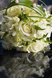 Beautiful bouquet of the bride Royalty Free Stock Images