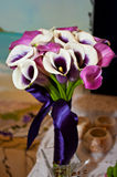 Beautiful bouquet with calla lily Stock Image