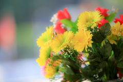 Beautiful bouquet flower for background Stock Photo