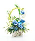 Beautiful bouquet flower in vase Stock Photography