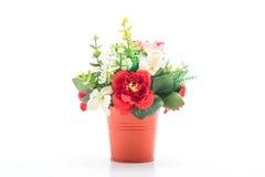 Beautiful bouquet flower in vase Stock Image