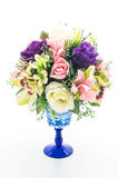 Beautiful bouquet flower in vase Royalty Free Stock Photo