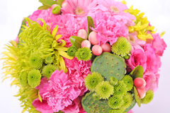 Beautiful bouquet of flowers Stock Photos