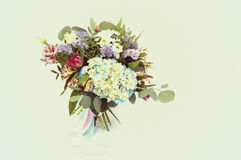 Beautiful bouquet  flowers. Made with color filters Stock Photo