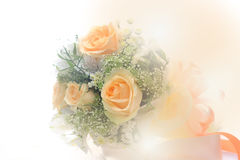 Beautiful bouquet of flowers made with colour filters. Soft tone Royalty Free Stock Image