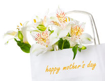 Beautiful bouquet of  flowers for mother's day Royalty Free Stock Photography