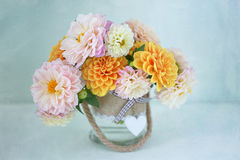 Beautiful bouquet of flowers. Stock Photo