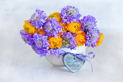 Beautiful bouquet of flowers Stock Photography