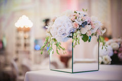 Beautiful bouquet for holiday and wedding floral decorations Stock Image