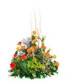 Beautiful bouquet of orange roses. Stock Photography