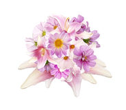 Beautiful bouquet pink flowers g Royalty Free Stock Image
