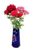 Beautiful bouquet of red and pink roses Royalty Free Stock Photo