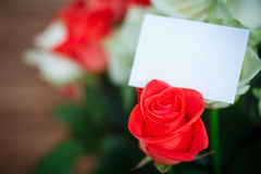 Beautiful bouquet of red rose Royalty Free Stock Photo