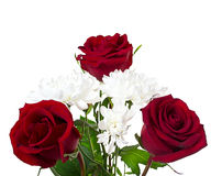 A beautiful bouquet of red roses Royalty Free Stock Photography