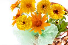The beautiful bouquet of summer. Flower Stock Photo