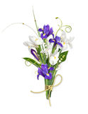Beautiful bouquet on thewhite background Stock Photo