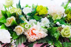 Beautiful bouquet for wedding decoration royalty free stock image