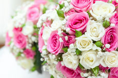 Beautiful  bouquet at a wedding party Stock Images