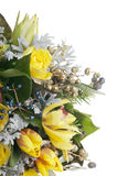Beautiful bouquet of yellow flowers Stock Photography