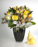 Beautiful bouquet of yellow flowers Royalty Free Stock Photos