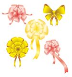 Beautiful bow Stock Images