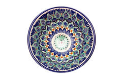 Beautiful bowl on a white background. Isolated Stock Image