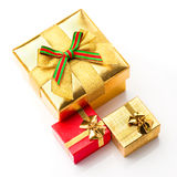 Beautiful boxes for gifts Stock Images