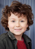 Beautiful boy with nice eyes Stock Photo