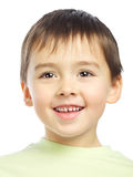 Beautiful Boy Portrait Stock Photo