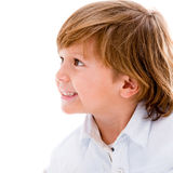 Beautiful boy portrait Stock Image