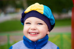 Beautiful Boy Portrait Stock Photography